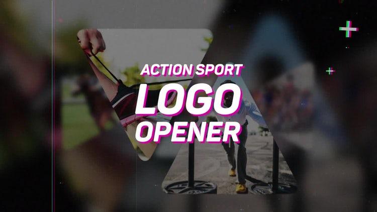 Action Sport Logo Opener: Premiere Pro Templates