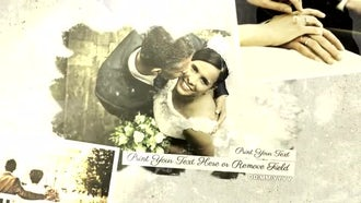 Vintage Wedding Slideshow: After Effects Templates