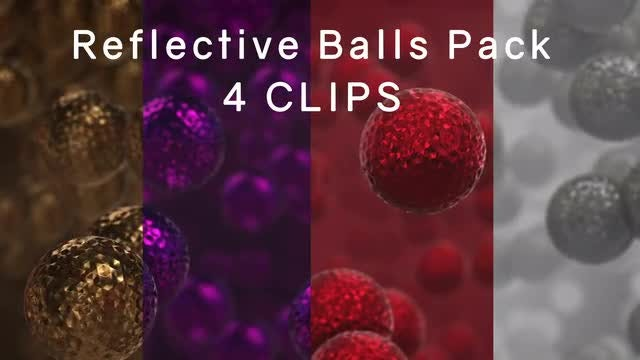 Reflective Balls Pack: Stock Motion Graphics