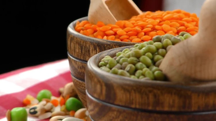 Legumes - Delicious and Healthy Food: Stock Video