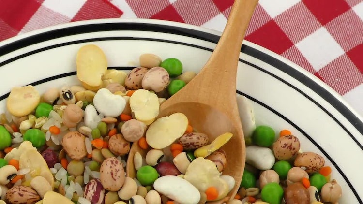 Legumes Delicious Mix : Stock Video