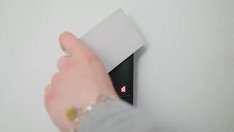 Intercom Door Security: Stock Video
