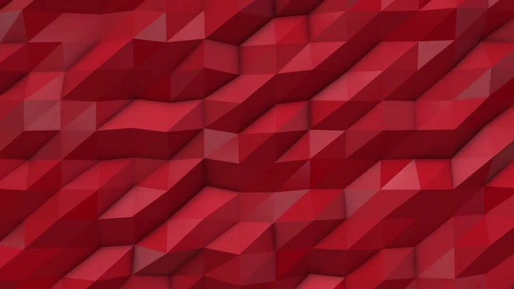 Abstract Low Poly Background: Stock Motion Graphics