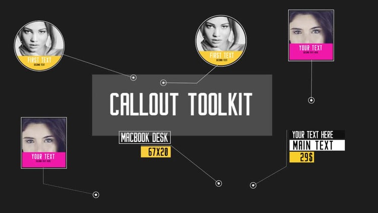 Callout Title Toolkit: After Effects Templates