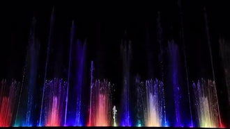 Beautiful Fountains: Stock Video