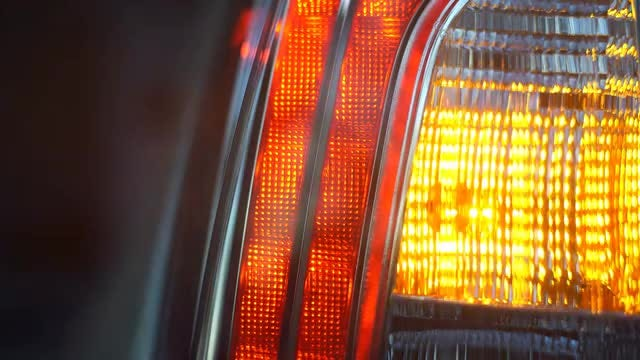 Blinker Light: Stock Video