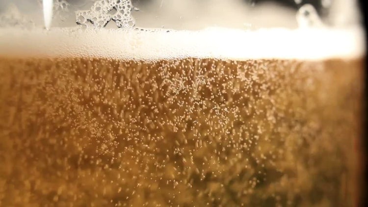 Pouring Beer Into A Glass: Stock Video