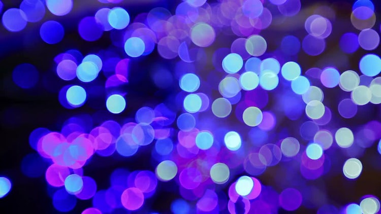 Blue Bokeh Abstract Background: Stock Video