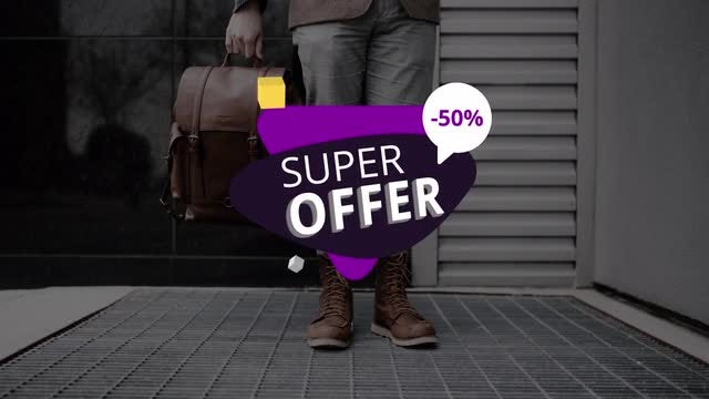 Discount Titles: Motion Graphics Templates