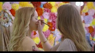 Makeup Artist: Stock Video