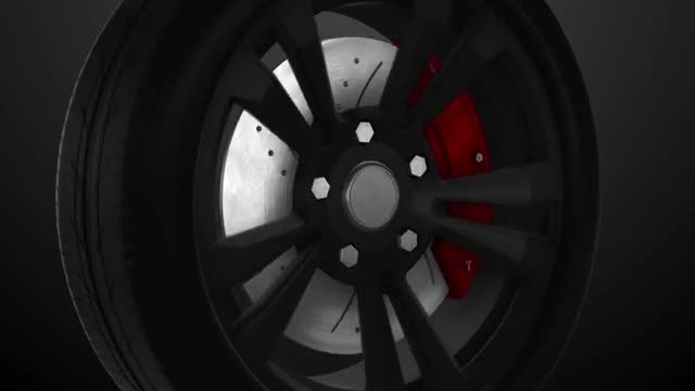 Sport Wheel Logo Reveal 3D: After Effects Templates