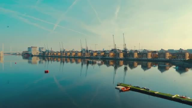 London Docklands, England: Stock Video
