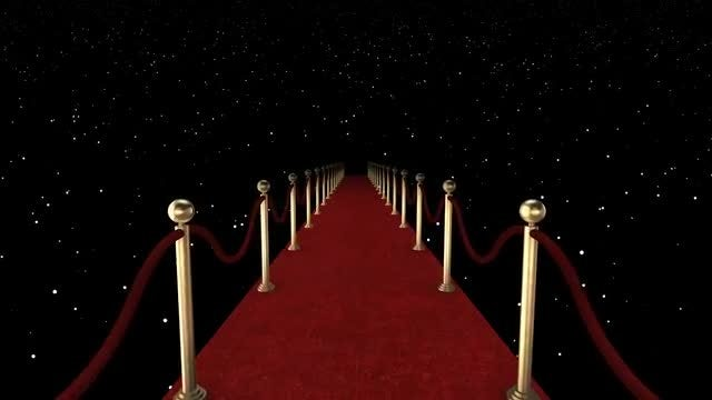 Red Carpet: Stock Motion Graphics