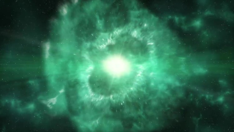 Supernova - Crab Nebula Formation: Stock Motion Graphics