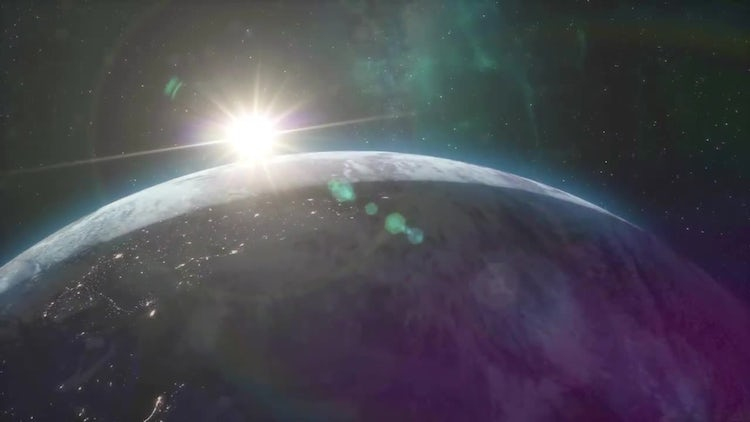 Planet Earth Sunrise Pack: Stock Motion Graphics
