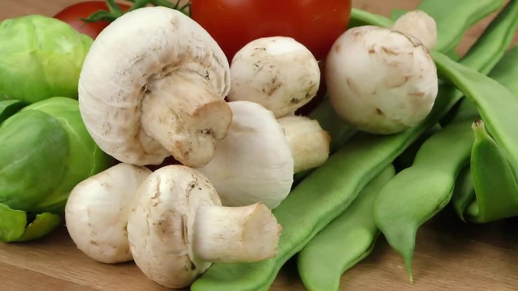 Delicious Mix Of Fresh Vegetables : Stock Video