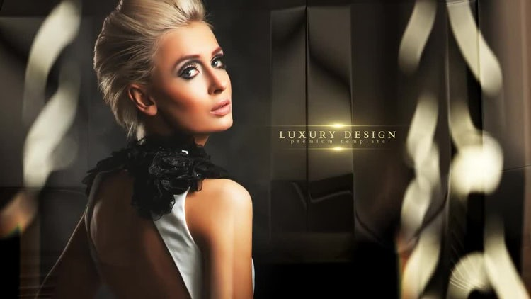 Black Gold: After Effects Templates