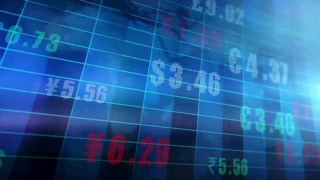 Global Currency Exchange Rates Stock Motion Graphics