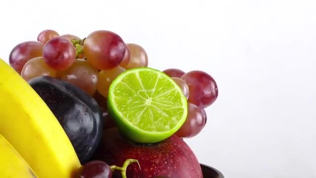 A Pack Of Delicious Fruits : Stock Video