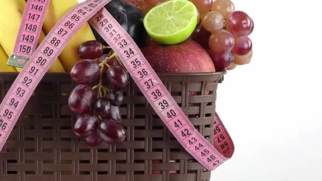 Weight Loss Fruits Pack: Stock Video