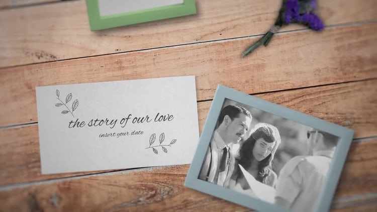 Wedding Opener: After Effects Templates