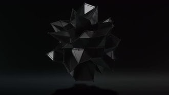 3D Black Hi-Tech Form 2: Motion Graphics