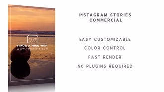 Instagram Stories Commercial: After Effects Templates