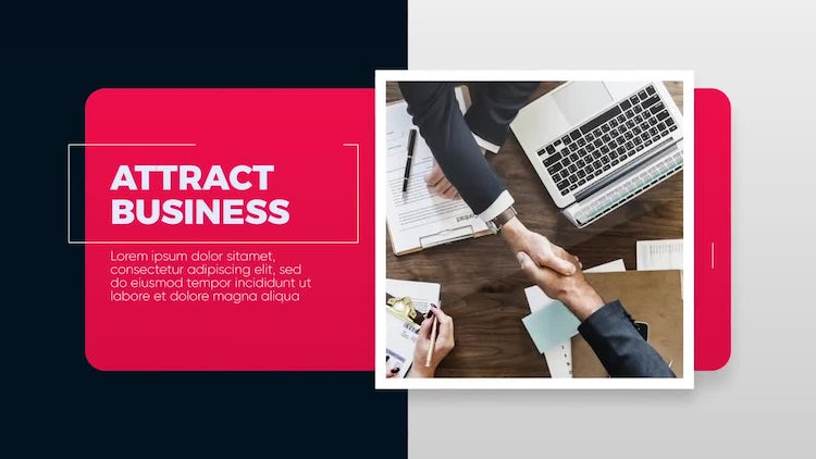 Attract - Corporate Promo: After Effects Templates
