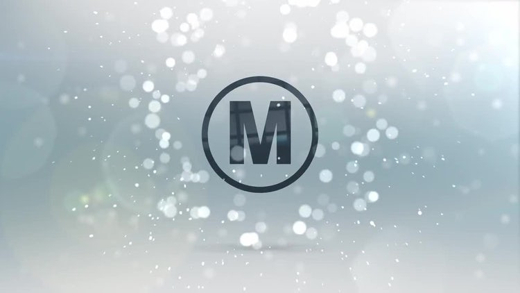 Elegant Particles Logo Reveal: Premiere Pro Templates