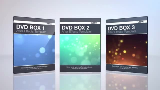DVD Boxes: After Effects Templates