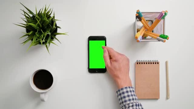 Man Using A Smartphone: Stock Video