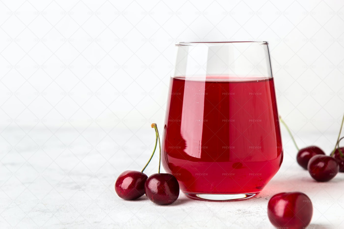 Cherry Compote: Stock Photos