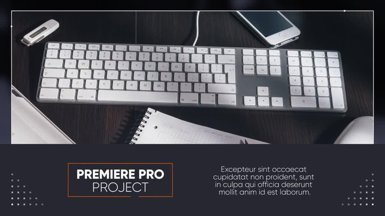 Minimal Corporate Premiere: Premiere Pro Templates