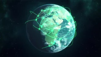 Networked Earth Pack: Motion Graphics