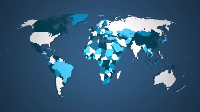 World Countries Combine - B: Stock Motion Graphics
