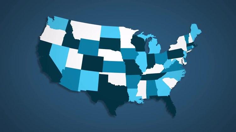 USA States Combine - B: Motion Graphics