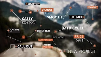 15 Call Out Titles: Motion Graphics Templates
