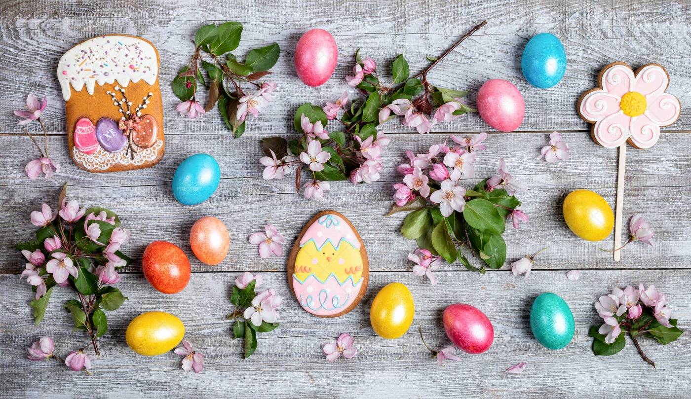 Easter Decorations Collection: Stock Photos