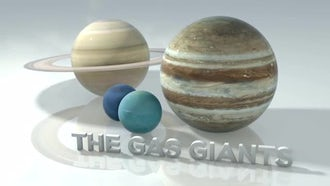 Marble Gas Giants: Motion Graphics