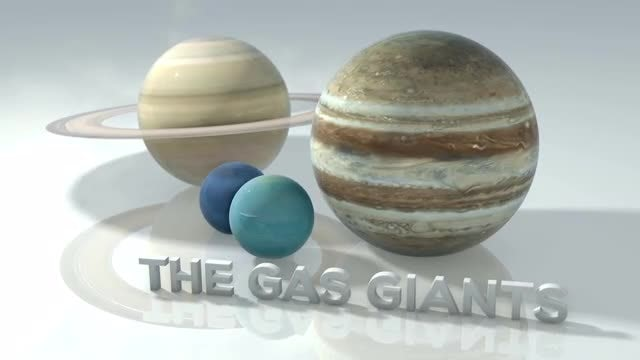 Marble Gas Giants: Stock Motion Graphics