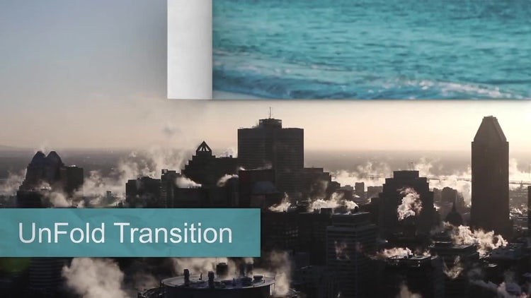 Unfolding Transition: After Effects Templates