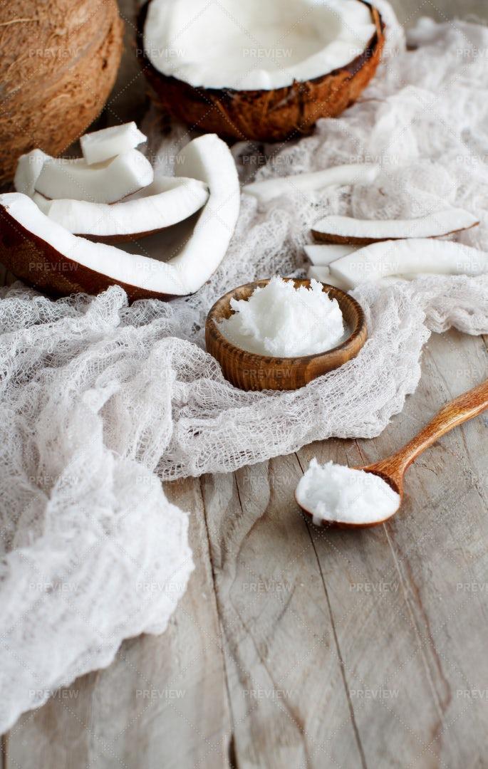 Coconut Oil: Stock Photos
