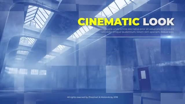 Cinematic Slideshow || Opener: Premiere Pro Templates