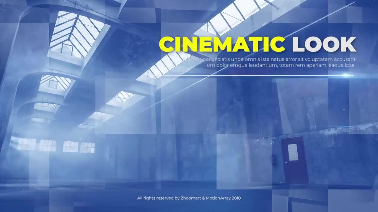 Cinematic Slideshow Opener - Premiere Pro Templates 69658