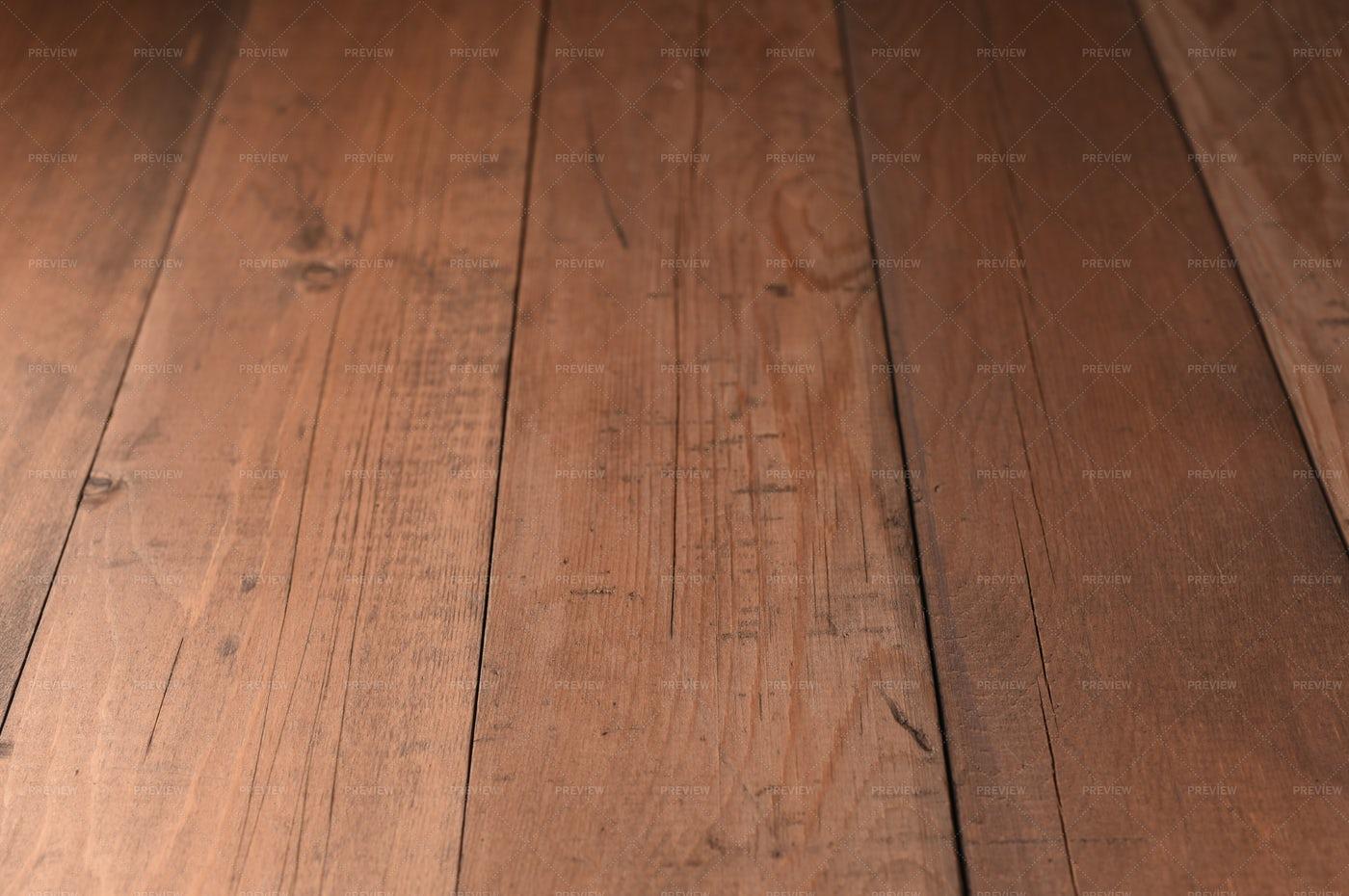 Scratched Wooden Floor Boards: Stock Photos