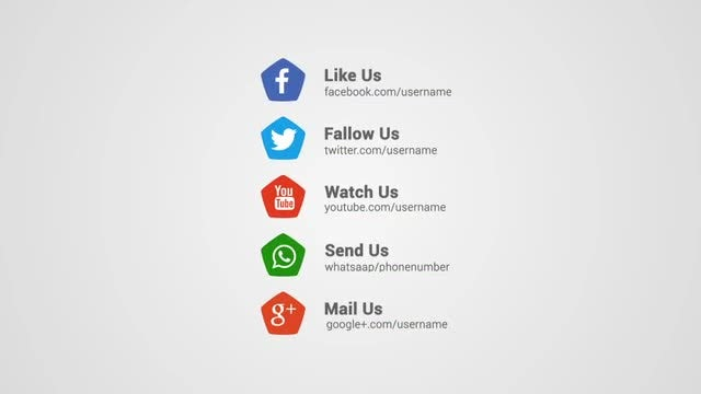 Social Promotion Opener: After Effects Templates