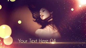 Golden: After Effects Templates