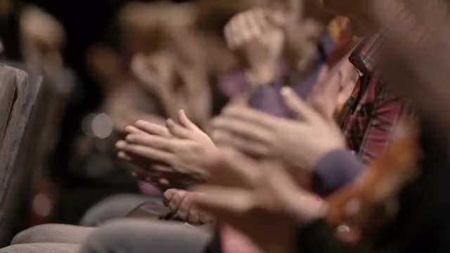 Audience Applauding At An Event: Stock Video
