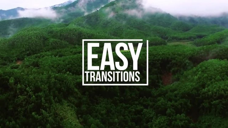 Easy Transitions: Premiere Pro Templates