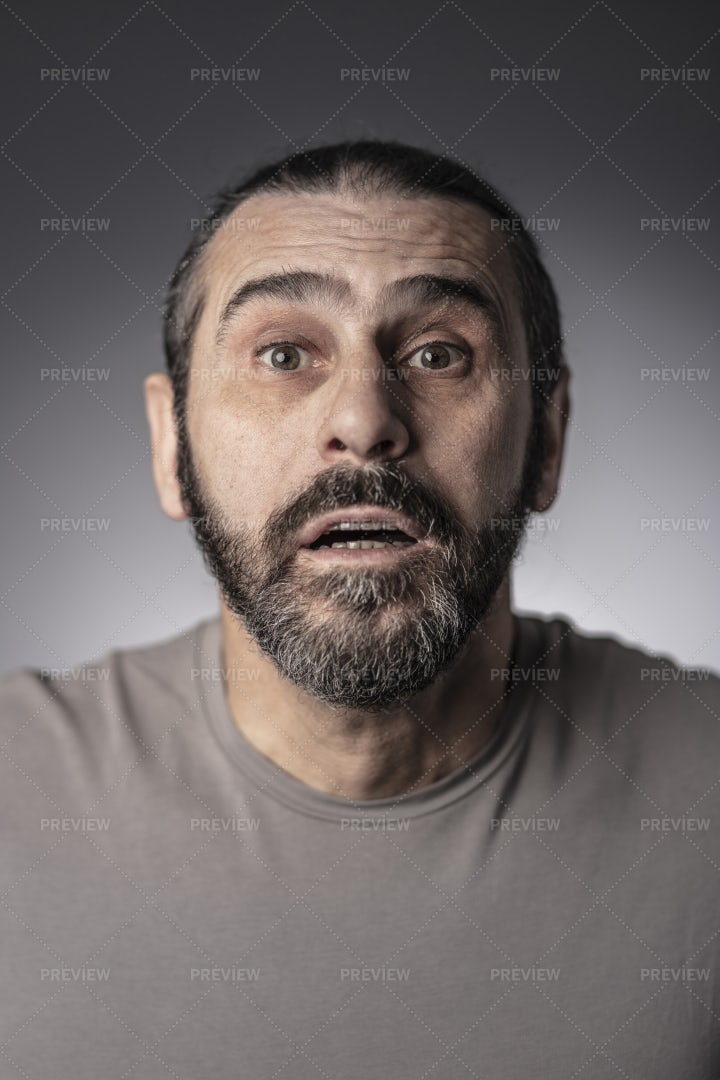 Man Looks Surprised: Stock Photos